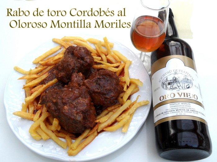 Rabo de Toro Cordobés al Oloroso Montilla - Moriles del Restaurante Sociedad Plateros María Auxiliadora