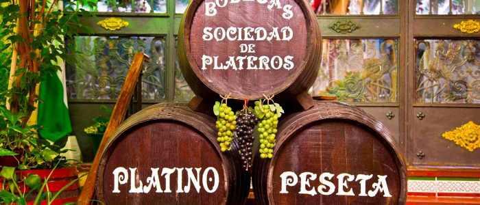 Barriles del Restaurante en Córdoba Sociedad Plateros Maria Auxiliadora