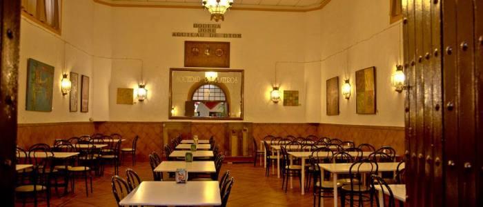 Salón José Aguilar de Dios del Restaurante de Córdoba Sociedad Plateros Maria Auxiliadora