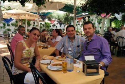 Parejas Restaurante en Cordoba Sociedad Plateros Maria Auxiliadora