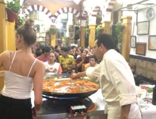 Curso cocina estudiantes franceses 2019 01