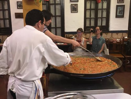 Curso cocina estudiantes franceses 2019 04