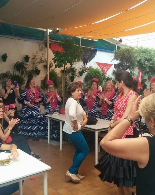 Feria en el Restaurante en Cordoba Sociedad Plateros Maria Auxiliadora 01