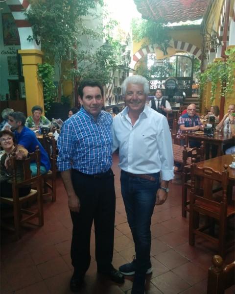 Justo Gomez en el Restaurante Sociedad Plateros Maria Auxiliadora 01