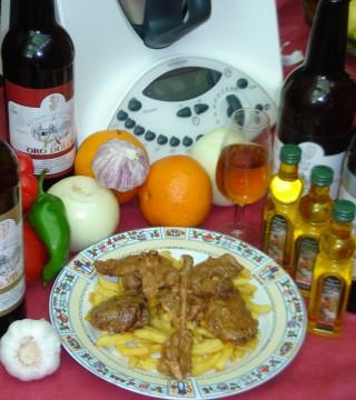 Conejo del Restaurante en Cordoba Sociedad Plateros Maria Auxiliadora