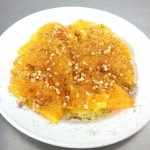 Naranja a la antigua con aceite y canela en Restaurantes de Cordoba Sociedad Platreros Maria Auxiliadora con Medina Azahara