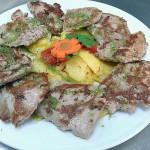 Puntas de solomillo sin gluten en Restaurante en Cordoba Sociedad Plateros Maria Auxiliadora