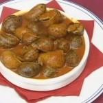 Caracoles gordos en salsa del Restaurante en Cordoba Sociedad Plateros Maria Auxiliadora