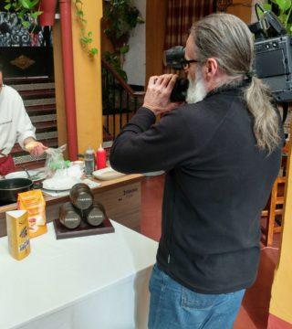 02-Bunuelos al viento sin gluten del Restaurante Sociedad Plateros Maria Auxiliadora