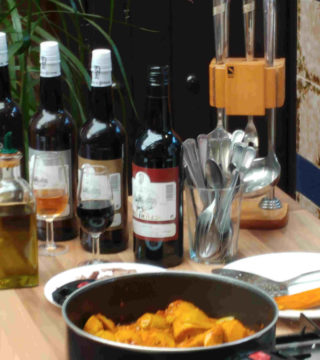 11-Alacahofas al Montilla siin gluten del Restaurante Sociedad Plateros Maria Auxiliadora