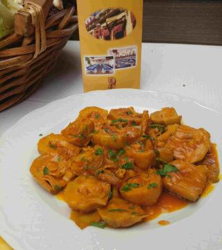 12-Alacahofas al Montilla siin gluten del Restaurante Sociedad Plateros Maria Auxiliadora