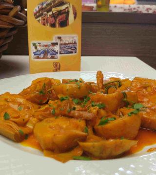 14-Alacahofas al Montilla siin gluten del Restaurante Sociedad Plateros Maria Auxiliadora