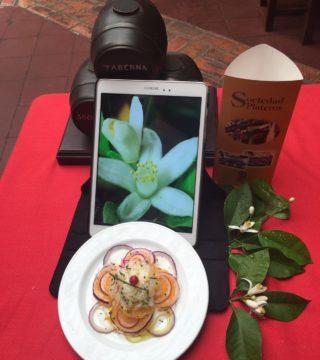 Bacalao a la naranja en el Restaurante Sociedad Plateros María Auxilidora de Cordoba 01