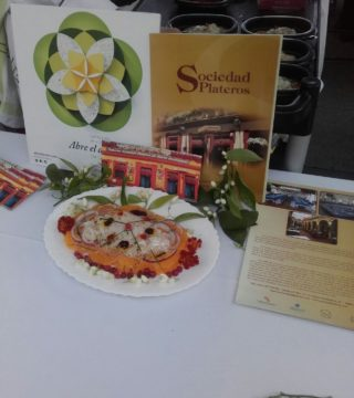 Bacalao a la naranja en el Restaurante Sociedad Plateros María Auxilidora de Cordoba 03
